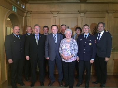 Foto zur Meldung: Bürgermedaillenträger Heinrich Seltl sen. feiert 80. Geburtstag