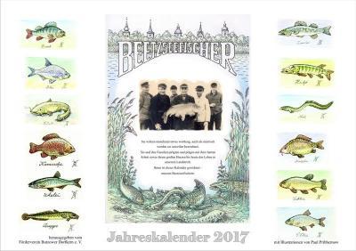 Foto zur Meldung: Die Beetzseefischer - Jahreskalender 2017 erschienen