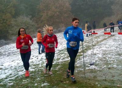 Foto zur Meldung: 4.Rostocker Herbstlauf - bei dem der Winter vorbei schaute