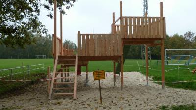 Foto zur Meldung: Baustelle in Volkmarsdorf
