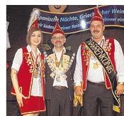 Foto zur Meldung: Groß Laasch - Groß-Laascher krönen ihren Narrenkönig Maik