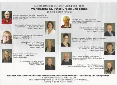 Foto zur Meldung: Kirchenwahl am 27.11.2016