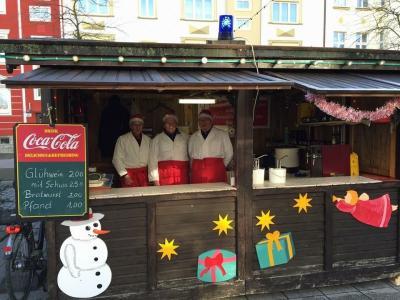 Foto zu Meldung: Für den Wittenberger Weihnachtsmarkt zwei neue Hütten