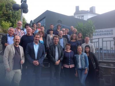 Foto zur Meldung: Europaschulen treffen sich in Bad Marienberg