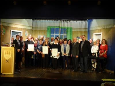 Foto zur Meldung: Verleihung des Bürgerpreises und des Kulturehrenbriefes der Gemeinde Nauheim