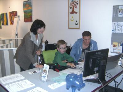 Foto zur Meldung: Berufsorientierung im Generationentreff LEBENSWert