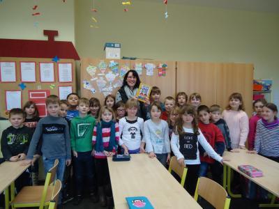 Vorschaubild zur Meldung: Vorlesetag in der Berg-Grundschule
