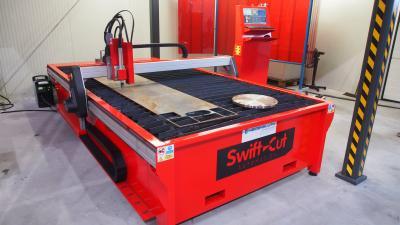 Vorschaubild zur Meldung: Neue CNC-Plasmaschneidanlage