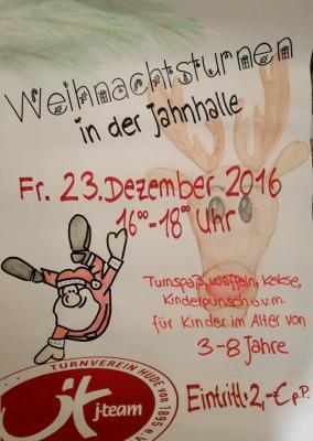 Foto zu Meldung: 23. Dezember: Zweites Weihnachtsturnen des TV Hude