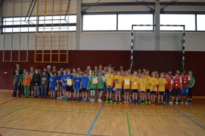 Foto zur Meldung: Kreisfinale Jugend trainiert Basketball WK III + WK IV