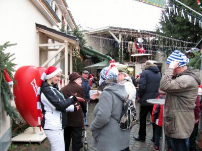 Vorschaubild zur Meldung: Adventsmarkt in Zielitz: Romantisch, liebevoll und weihnachtlich