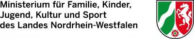 Logo des Ministerium für Familie, Kinder, Jugend, Kultur und Sport NRW