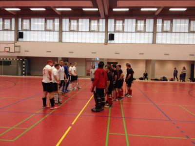 Foto zur Meldung: Unsere 2. Herren gegen die Hockeyfreunde von TIB Berlin