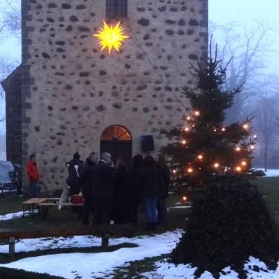 Foto zu Meldung: 17. Weihnachtskonzert des Rehfelder Sängerkreises in der Kirche Werder