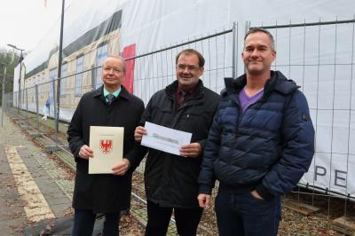 Bild der Meldung: Eine Million Euro Fördermittel für Kaiserbahnhof da