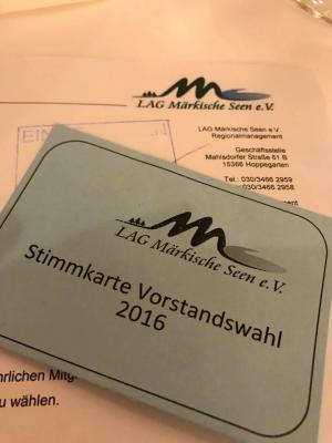 Foto zur Meldung: LAG Märkische Seen: Neuer Vorstand gewählt und V. Projektauswahlverfahren