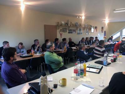 Foto zur Meldung: SR-Obleute und SR-Lehrwartetagung des FSA