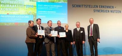 """Uebigau-Wahrenbrück - Stadt gewinnt beim Bundeswettbewerb """"Klimaaktive Kommune 2016"""""""