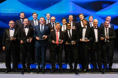 Gruppenfoto aller ausgezeichneten Preisträger; Foto Darius Misztal