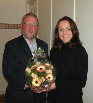 Foto zur Meldung: Neue 1. stellvertretende Bürgermeisterin in der Gemeinde Dägeling