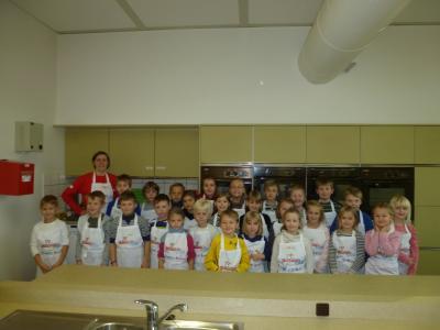 Foto zur Meldung: Kinderküche auf Tour für die 1/2a und 3a