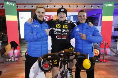 Foto zur Meldung: Joey Kelly stellt neuen Weltrekord bei RTL Spendenmarathon auf