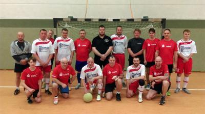 Foto zur Meldung: Fußball verbindet  den Laufsport und die Feuerwehr in Laage