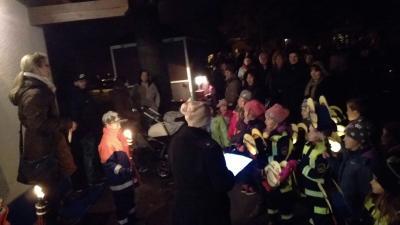 Foto zu Meldung: Rege Teilnahme beim Martinsumzug in Grafhorst