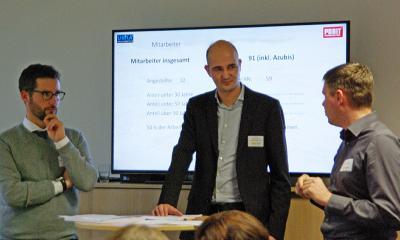 Foto zu Meldung: [O-H-V konkret!] – Unternehmeraustausch zur Fachkräftegewinnung
