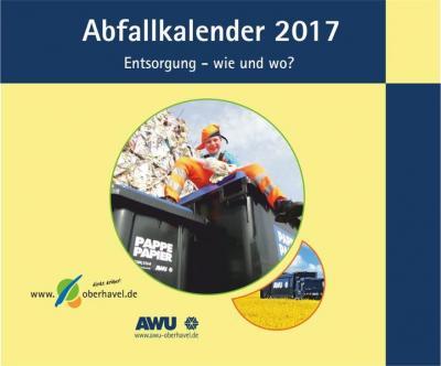 Foto zu Meldung: Abfallkalender 2017 – jetzt erhältlich