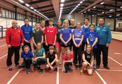 Foto zur Meldung: Lauftraining in Rostocker Laufhalle bleibt begehrt