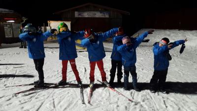 Foto zur Meldung: Erfolgreicher Skicross in Heubach