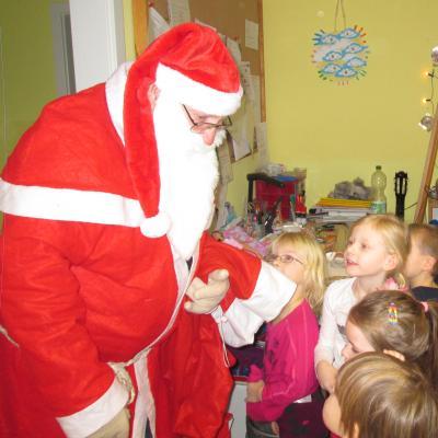 Foto zu Meldung: Der echte Weihnachtsmann war da