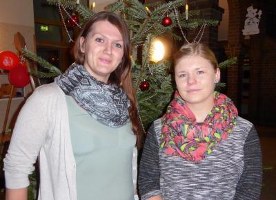 Foto zur Meldung: Zwei junge Frauen stärken unser Team