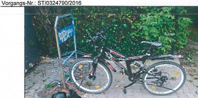 Vorschaubild zur Meldung: Öffentlichkeitsfahndung - Gesucht wird der Besitzer des abgebildeten Fahrrades