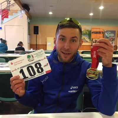 Foto zur Meldung: Moritz auf der Heide gewinnt überlegen Siebengebirgsmarathon
