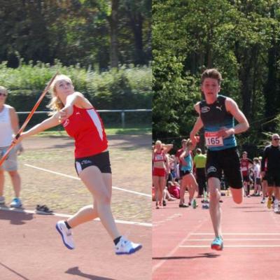 Foto zur Meldung: Konstantin Lwowski und Lara Schmitz in den NRW-D-Kader aufgenommen