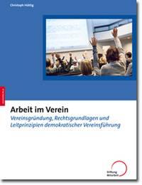 Foto zur Meldung: Neue Publikation: »Arbeit im Verein«