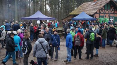 Foto zur Meldung: 18.12.2016:  83. Wanderung zum Jagdhaus im Westerhöfer Wald