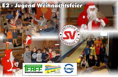 Foto zu Meldung: E2- Jugend Weihnachtsfeier