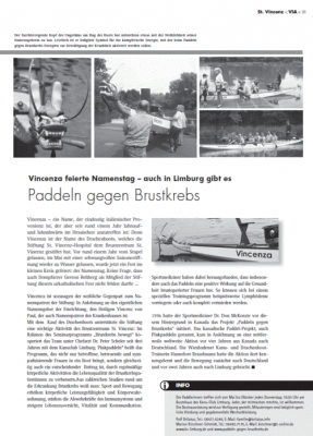 Namenstag Drachenboot VINCENZA 2014
