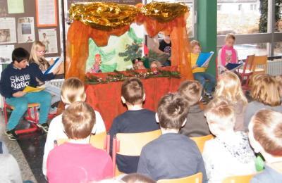 """Foto zur Meldung: Aufführung der Theatergruppe """"Weihnachten im Hexenwald"""""""
