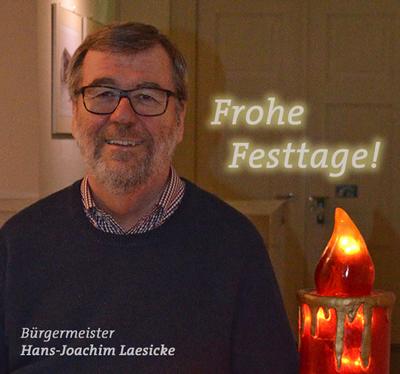 Foto zu Meldung: Grußwort des Bürgermeisters zum Jahreswechsel