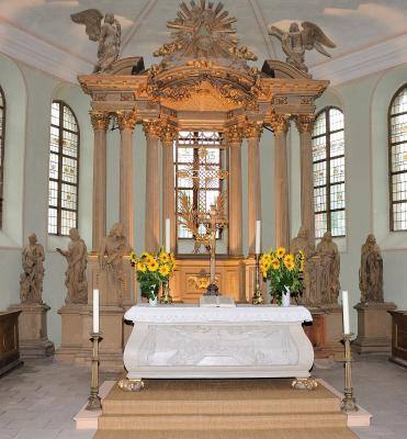Kirche Boitzenburg Altar