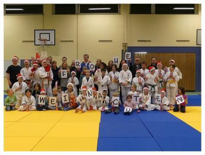 Foto zur Meldung: Weihnachtliches Judo-Training beim SC Hemmingen-Westerfeld