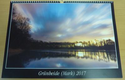 Vorschaubild zur Meldung: Grünheider Kalender 2017 jetzt für 5 €