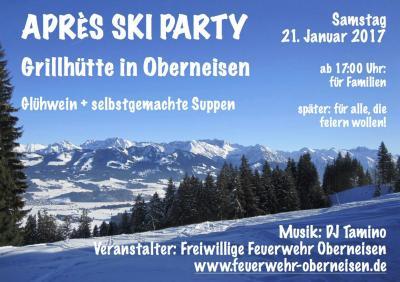 Foto zur Meldung: Après-Ski-Party 2017