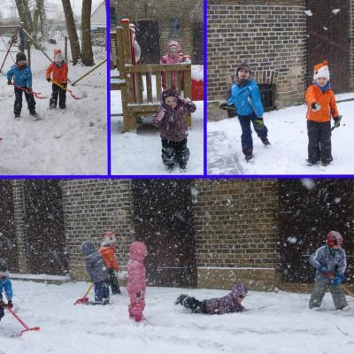 Foto zu Meldung: Es schneit, es schneit, weiße Flocken weit und breit!