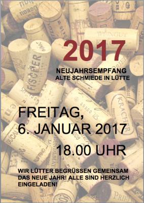 Foto zur Meldung: Neujahrsempfang in der Alten Schmiede