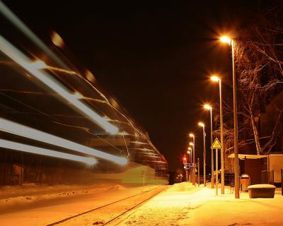 Foto zur Meldung: Zugverkehr war unterbrochen
